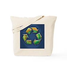 recycle-tie-dye-CRD Tote Bag