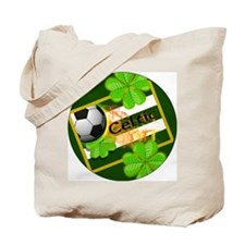celtic-football-3-in-button Tote Bag