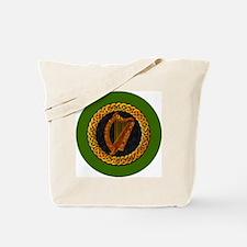 CELTIC-HARP-3-INCH-BUTTON Tote Bag