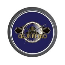CLUB-RETRO-3-INCH-BUTTON Wall Clock