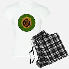 CELTIC-IRELAND-3-INCH-BUTTO Pajamas