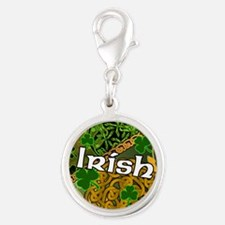 celtic-irish-3-inch-button Silver Round Charm