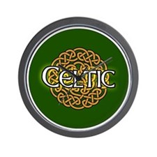 celtic-v3-in-button Wall Clock