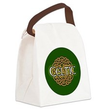 celtic-v3-in-button Canvas Lunch Bag