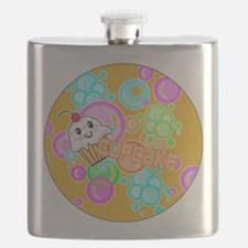 CUPCAKE-3-INCH-BUTTON Flask