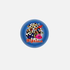 FIFTIES-MEMORIES-3-INCH-BUTTON Mini Button