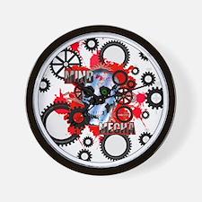 MIND-MECHA-3-INCH-BUTTON Wall Clock