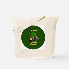 irish-music-3-in-button Tote Bag