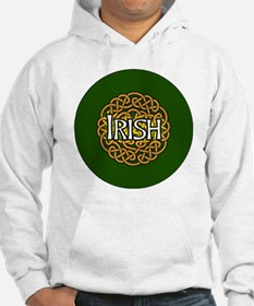 irish-celtic-3-in-button Hoodie