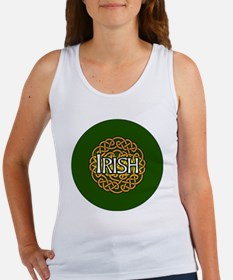 irish-celtic-3-in-button Women's Tank Top