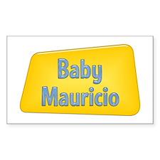 Baby Mauricio Rectangle Decal