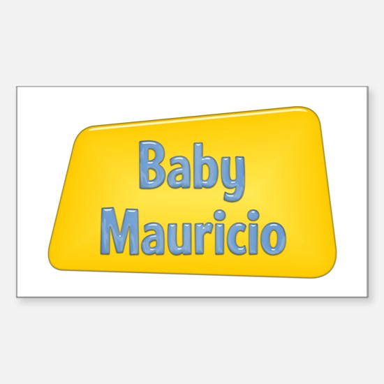 Baby Mauricio Rectangle Decal
