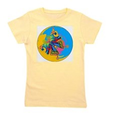 PSYCHEDELIC-BUTTERFLY-3-INCH-BUTTON Girl's Tee