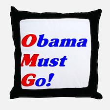 mustgo1 Throw Pillow