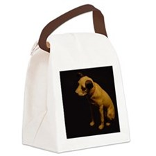 His_Masters_Voice Canvas Lunch Bag
