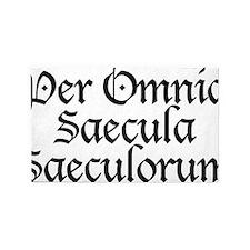 Per_Omnia_Saecula_Saeculorum 3'x5' Area Rug