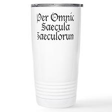 Per_Omnia_Saecula_Saeculorum Travel Mug