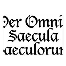Per_Omnia_Saecula_Saeculo Postcards (Package of 8)