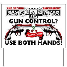 GUNCONTROL Yard Sign