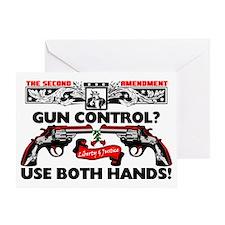 GUNCONTROL Greeting Card