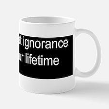 Racial ignorance Mug