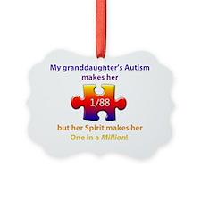 1inMillionlight-granddaughter-new Ornament