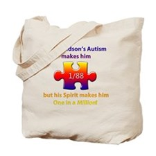 1inMillionlight-grandson-new Tote Bag