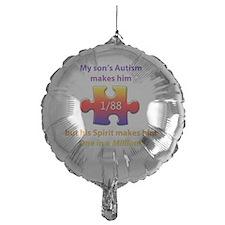 1inMillionlight-son-new Balloon
