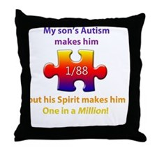 1inMillionlight-son-new Throw Pillow