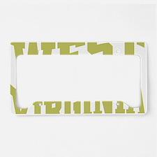 West Virginia License Plate Holder