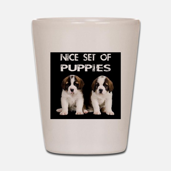 Nice_Set_Of_Puppies Shot Glass
