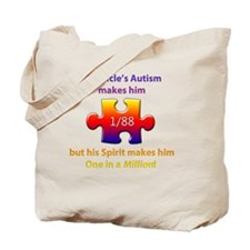 1inMillionlight-uncle-new Tote Bag