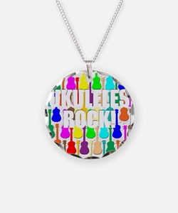 ukulele rocks uke ukuleles u Necklace