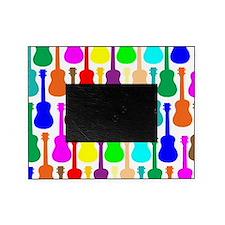 rainbow ukulele ukes Picture Frame