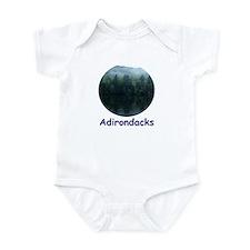 Adirondack Mountain Trees Infant Bodysuit