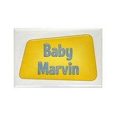 Baby Marvin Rectangle Magnet
