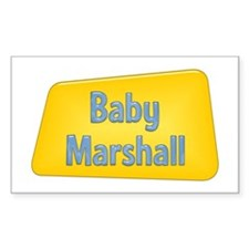 Baby Marshall Rectangle Decal