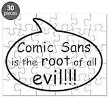 Comic sans Puzzles