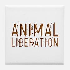 Animal Liberation Tile Coaster