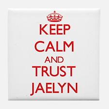 Keep Calm and TRUST Jaelyn Tile Coaster