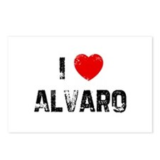 I * Alvaro Postcards (Package of 8)
