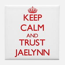 Keep Calm and TRUST Jaelynn Tile Coaster