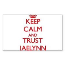 Keep Calm and TRUST Jaelynn Decal