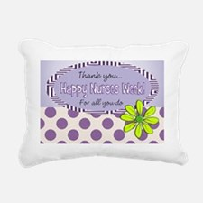 CP happy nurse week 7 Rectangular Canvas Pillow