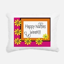CP happy nurses week 6 Rectangular Canvas Pillow