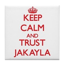 Keep Calm and TRUST Jakayla Tile Coaster