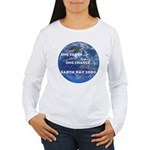 Earth Day 2009 Women's Long Sleeve T-Shirt