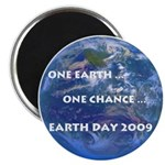 """Earth Day 2009 2.25"""" Magnet (10 pack)"""