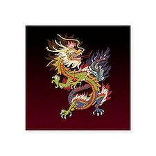 "dragon_chinese9 Square Sticker 3"" x 3"""