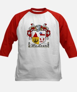McLean Coat of Arms Kids Baseball Jersey